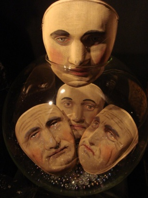 1900s masonic masks