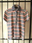 Simpson Sears Vintage 1950s Striped Terry Cloth Polo Shirt- The Eye of Faith