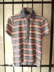 Simpson Sears Vintage 1950s Striped Terry Cloth Polo Shirt- The Eye of Faith