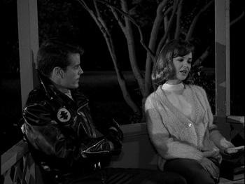 Twilight zone black leather jackets