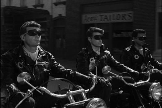 Black Leather Jackets- The Twilight Zone- Style Wise- The Eye of Faith Vintage- 1964- 3