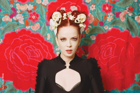 Shirley Manson- GARBAGE- The World is Not Enough - The Eye of Faith Vintage
