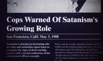 Cops Hate Satanists- Especially Teen Ones- The Eye of Faith Vintage- Style Inspiration Blog