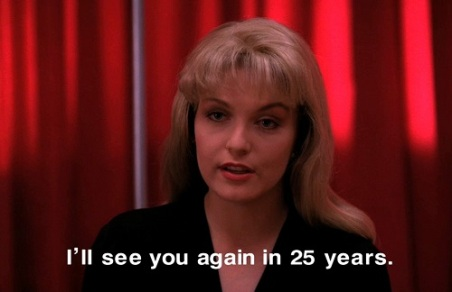 Laura Palmer Says It Like It Is - Twin Peaks Teens- The Eye of Faith Vintage- Style INspiration Blog