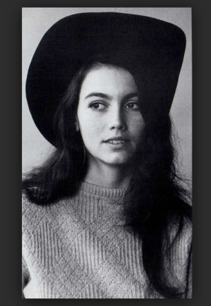 Young Emmylou- The Eye of Faith Vintage- Style Inspiration Blog