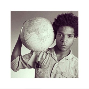 BASQUIAT - HES GOT THE WEIGHT OF THE EARTH ON HIS SHOULDER