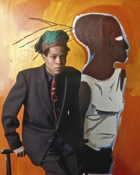 EOF STYLE IDOL- BASQUIAT FOR VOGUE MAGAZINE- KILLING IT