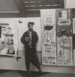 I DONT WANT TO WORK- I JUST WANT TO BANG ON THE DRUMS ALL DAY- BASQUIAT- THE TIME IS NOW- EOF