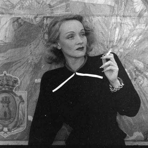 MARLENE DIETRICH- DEVIL MAY CARE- the eye of faith vintage