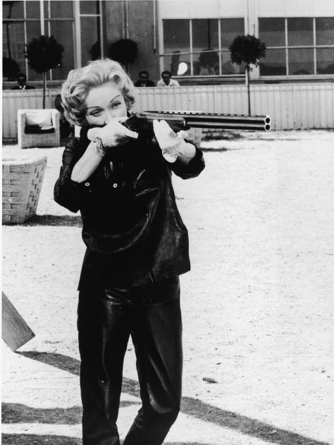MARLENE DIETRICH- Dont mess with this bitch - the eye of faith vintage