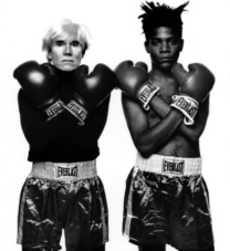 WARHOL VS BASQUIAT - THE TIME IS NOW - EOF STYLE IDOL- VINTAGE