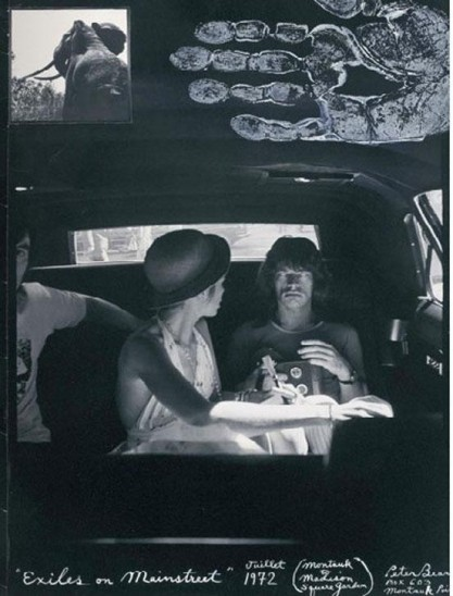 BIANCA AND MICK- 1972- BY PETER BEARD