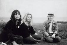 Good Company- Mick Jagger, Catherine Deneuve, Andry Warhol by Peter Beard- 1975