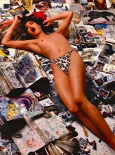 JANICE DICKINSON by PETER BEARD - 1988