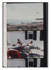 PETER BEARD AND ELIA KAZAN- MONTAUK -- 1972 - EOF STYLE IDOL