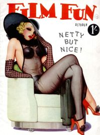 1940s Pin Up- Netty But Nice- Film Fun- The Eye of Faith Vintage- Hollywood Babylon Inspirations