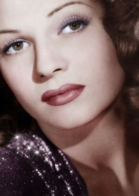 Rita Hayworth - Goddess of Beauty- The Eye of Faith {Vintage}