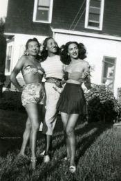 Ultimate 1940s Summer Babes- California Girls are Undeniable -The Eye of Faith Vintage- HOLLYWOOD BABYLON Inspirations- Supercrawl 2015