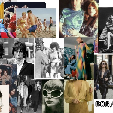 VINTAGE SHOWCASE INSPIRATIONS 60s:70s