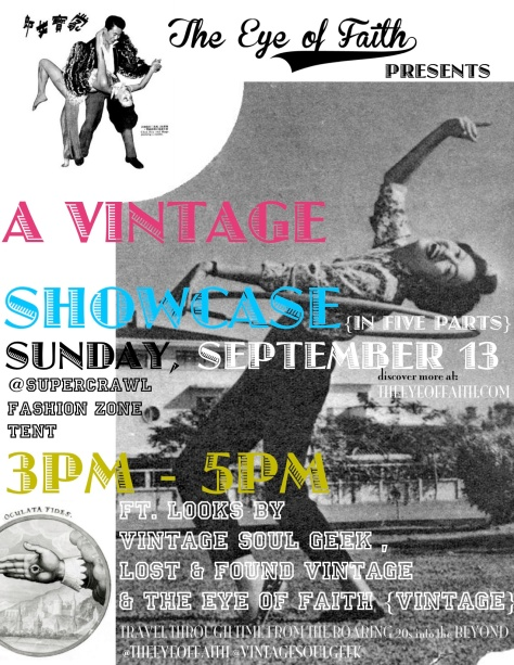 VINTAGE SHOWCASE - SEPT 13