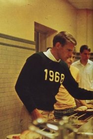 1968 Ivy Style Prep Style Superstar Eats Too! MALE STYLE ICON TO THE MAX- MENS FALL INSPIRATION- THE EYE OF FAITH VINTAGE- SWEATER WEATHER
