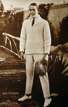 JACK PICKFORD- 1920S MALE STYLE ICON TO THE MAX- MENS FALL INSPIRATION- THE EYE OF FAITH VINTAGE- SWEATER WEATHER 1