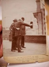 JAMES BYRON CLAYTON and FRIENDS - 1913 - eof selfie centered- vintage blog-2