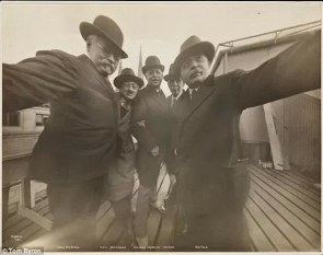 JAMES BYRON CLAYTON and FRIENDS - 1913 - eof selfie centered- vintage blog