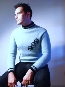 Paul Models Tri-Cross 50s Academy Sweater from The Eye of Faith Vintage