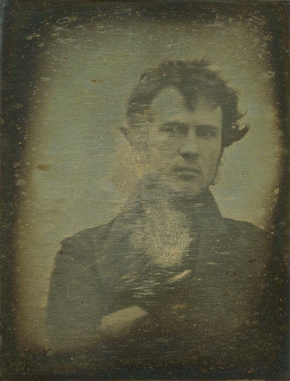 ROBERT CORNELIUS - 1839- SLFIE CENTERED- THE EYE OF FAITH VINTAGE BLOG