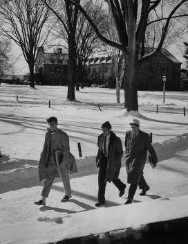 Ivy Style- Winter Campus- Vintage Fall:Winter Menswear Inspiration- The Eye of Faith Blog
