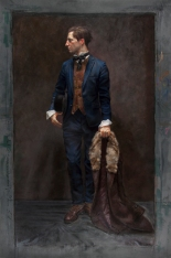 Simon in a Vintage Suit. H. Craig Hanna, 2013
