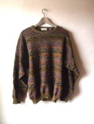 Kurt Cobain Vintage Style Inspiration - Alpaca Wool Oversized Graphic Grunge Sweater- The Eye of Faith Shop