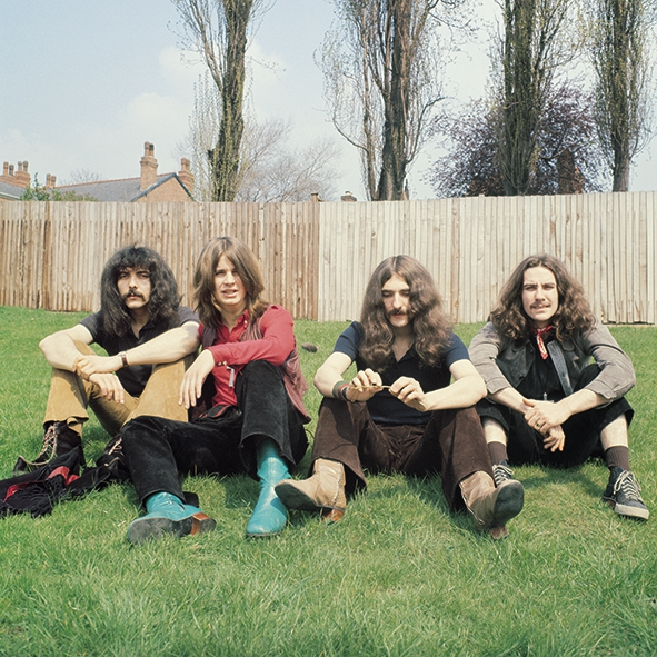 """Pictures loaded by Graham Young, Birmingham Mail. The first ever picture taken of Black Sabbath taken in 1968 of Tony Iommi, Ozzy Osbourne, Geezer Butler, Bill Ward, on a bank of grass close to Portland Road, Edgbaston. One hundred prints have been made at £495 each. Jim Simpson says: """"If any one band can claim to be the originators of Heavy Metal, then that band is Black Sabbath. Strangely, Heavy Metal was not a term used in those days, though Sabbath certainly prided themselves on being heavier than any of their so-called rivals. In fact, their early publicity claimed, """"Black Sabbath, the Heaviest Band Around. Makes Led Zeppelin sound like a kindergarten house band."""" Quite how the Sabs changed from being a perfectly good blues band into the musical phenomenon that we all know and love is shrouded in mystery. It all started with Geezer Butler who contributed the band's name as well as many of the songs. Their music developed naturally from then and it's hard to indentify exactly what directly preceded it. Hendrix, yes, to a limited extent, but that only partly explains it. Whatever, Black Sabbath are THE Birmingham Rock Band. Ask yourself this. Who is the world's most famous Brummie? Without doubt, it's Ozzy. Also loaded: Jim Simpson at the private launch of Jim Simpson - A Photography Retrospective, an exhibition at Havill & Travis showcasing Jim's extraordinary collection of photographs from of pop, rock and blues stars from the 1960s. Jim was the first manager of Ozzy Osbourne and Black Sabbath. He has run Big Bear Records in Edgbaston for 46 years (to 2014) and founded the 30-year-old Birmingham International Jazz Festival in 1984. Havill & Travis at 14 Lonsdale Road, Harborne, Birmingham B17 9RA. Tel 0121 427 5763. www.havillandtravis.com The gallery is a partnership between fiends Dave Travis (left), ex rock photographer turned concert promoter and Mission Print founder Gerv Harvill. Pictures loaded by Graham Young, Birmingham Mail."""
