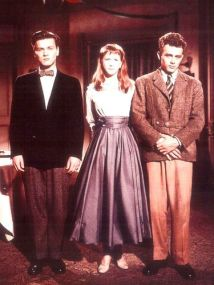 STYLE IDOL- RICHARD DAVALOS- R.I.P.- THE EYE OF FAITH {VINTAGE} - East of Eden Trio- julie Harris-James Dean-Style Inspiration