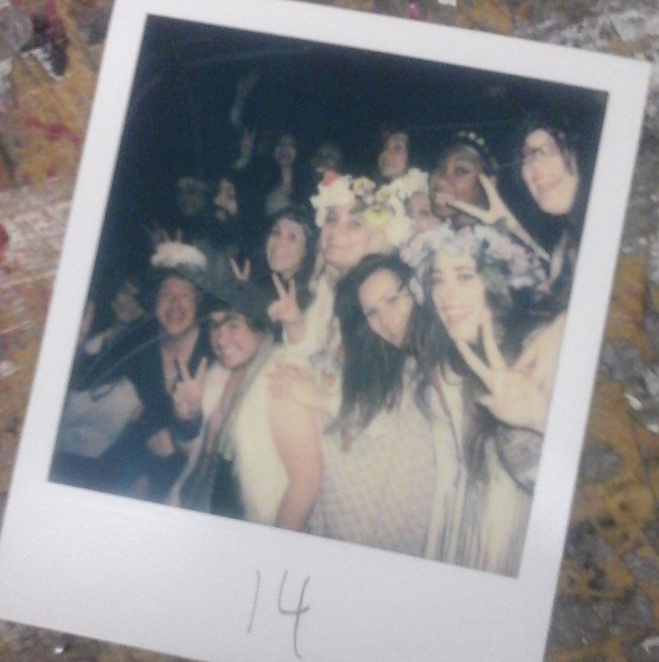 HAIR- Hamilton Theatre Inc- 2016 - Polaroid