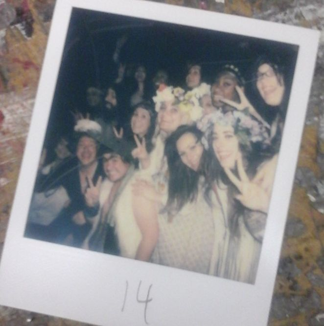 HAIR- Hamilton Theatre Inc- 2016 - Polaroid