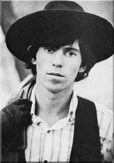 The Eye of Faith {Vintage} - E.O.F. Style Idol- Keith Richards- BIG BLACK HAT
