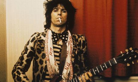 The Eye of Faith {Vintage} - E.O.F. Style Idol- Keith Richards - KING