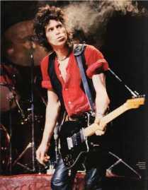 The Eye of Faith {Vintage} - E.O.F. Style Idol- Keith Richards - rock n roll god