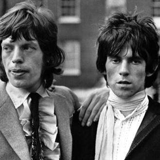The Eye of Faith {Vintage} - E.O.F. Style Idol- Keith Richards w-jagger-bad ass babes