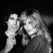 The Eye of Faith {Vintage} - E.O.F. Style Idol- Keith Richards w-supermodel supreme- Patti Hensen