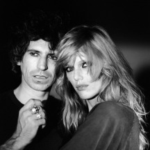 The Eye of Faith {Vintage} - E.O.F. Style Idol- Keith Richards w-supermodel supreme- Patti Hensen
