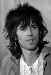 The Eye of Faith {Vintage} - E.O.F. Style Idol- Keith Richards
