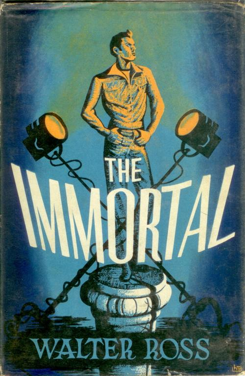 The Eye of Faith {Vintage} - Snapshot of the Day- August 18 - 2016- THE IMMORTAL - Vintage 40s Graphic Book Cover Illustration