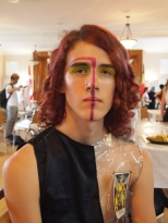 The Eye of Faith TAROT- Male Makeup Looks by Brandon McIlvenna
