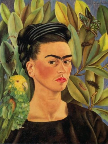 Frida Kahlo- Self Portrait, 1941