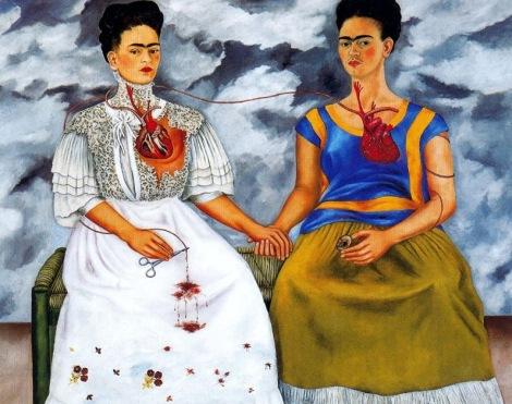 Frida Kahlo- The Two Fridas - 1939