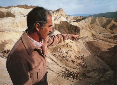 Michelangelo Antonioni oversees the desert orgy- ZABRISKIE POINT- 1970