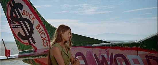 BLOW IT UP - ANTONIONI'S ZABRISKIE POINT- ULTIMATE SUMMER STYLE INSPIRATION- THE EYE OF FAITH VINTAGE BLOG- DARIA HALPRIN- PAINTING THE PLANE